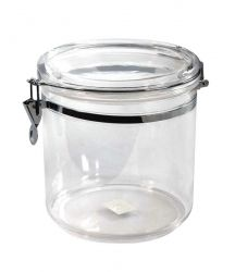 1 Gallon Clip Jar, MS, Foodsafe