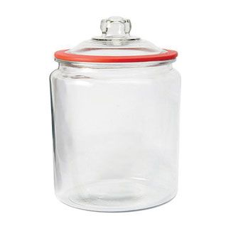 2 Gallon Glass Heritage Jar With Cherry Silicone Gasket