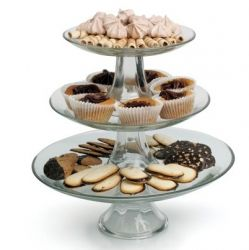 3 Tiered Platter Display Stand