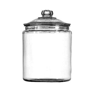 Heritage Jar With Glass Cover